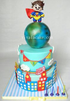 Super hero Cake ♡