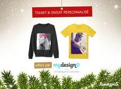 Envie d'avoir un teeshirt et un pull à votre image ? Tentez de gagner l'ensemble en Pin it et en aimant cette publication. - Découvrez ces produits ici : http://ymp.io/u/Tee -    @mydesigncom #jeuconcours