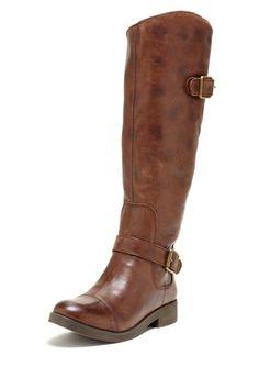 lucky brand tall riding boot.