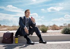 Photos of the characters of Better Call Saul for Season 2, including Jimmy, Mike, Chuck, Kim, Hamlin and Nacho.