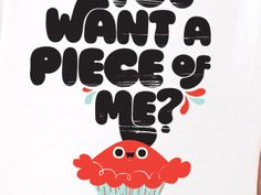 """""""you want a piece of me?"""" by christopher lee on dribbble"""