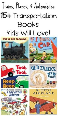 School Time Snippets: Transportation Books and Activities for Presch. Trains Preschool, Transportation Preschool Activities, Transportation For Kids, Eyfs Activities, Train Activities, Preschool Books, Preschool Themes, Toddler Activities, Toddler Books