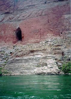Immense Cavern in Grand Canyon of Arizona