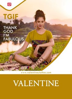 Thank God it's Friday, because the weekend has landed and it's time to forget about work and tear it up! #tgif #thankgoditsfriday #weekend #weekendvibes #weekendplans #valentine #valentineclothes #madewithlove #happyshopping https://valentineclothes.com/