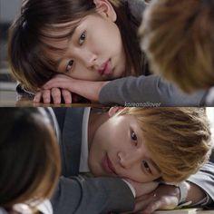 Who Are You: School 2015...  I so  ship Lee EunBi and TaeKwang.