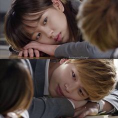 Who Are You: School 2015...  I so  ship Lee EunBi and TaeKwang.