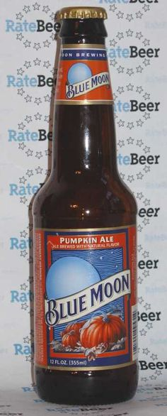 Blue Moon Pumpkin Ale ..... I can't wait!!!!!