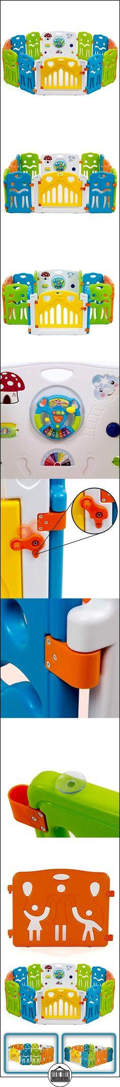 Baby Vivo - Parques para niños con colores de plástico de puertas XL  ✿ Seguridad para tu bebé - (Protege a tus hijos) ✿ ▬► Ver oferta: http://comprar.io/goto/B01BYFZ0I6