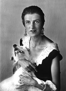Peggy Guggenheim, ca. 1926  Gelatin silver print, 44.6 x 34.6 cm  Peggy Guggenheim Collection Archives, Venice. Purchase, 1988  (courtesy Ikona Gallery, Venice)