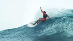 The Dope Surf Society® Surfer girl shedding this wave like whoa!