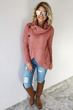 So Perfect Sweater: Blush