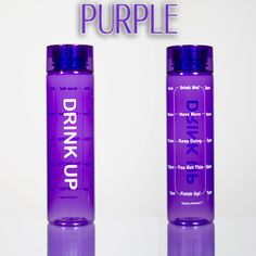 32 oz/ BPA Free  Get motivated to drink more water! This motivational bottle is a sure way to get your 8 glasses of water a day.  The timeline markings serves as a visual reminder and motivator for you to drink water and see your progress.  Keep up with the time increments, by the end of th...