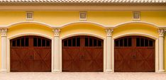 Real wood doors have a natural beauty and bring a warm and inviting look to your home. Our wood doors have an unmatched level of craftsmanship and class. See below to build the door of your dreams. Garage Door Windows, Wood Garage Doors, Garage Door Design, Carriage House Garage, Carriage Doors, Garage Door Makeover, Garage Door Repair, Car Garage, Wayne Dalton Garage Doors