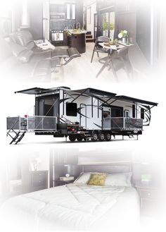"""Discover additional details on """"recreational vehicles rv living"""". Visit our web site. Rv Trailers, Travel Trailers, Camping Trailers, Rv Financing, Luxury Rv, Buses And Trains, Rv Life, Camping Life, Toy Hauler"""