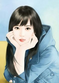 chinese girl y Chinese Drawings, Chinese Art, Beautiful Fantasy Art, Beautiful Anime Girl, Autumn Illustration, Lovely Girl Image, Cute Cartoon Girl, Cute Girl Wallpaper, Girl Sketch