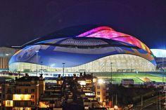 Sochi's Striking Olympic Stadiums: Bolshoy Ice Dome