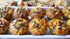 Les receptes que m'agraden: Muffins salados de boniato, ajo y parmesano