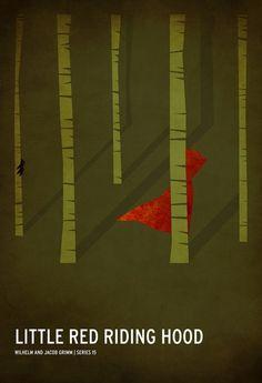 Serie de ilustraciones del diseñador Christian Jackson inspiradas en cuentos clásicos.