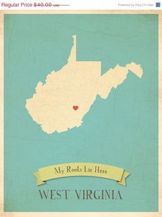 West Virginia Roots. I want one with Shepherdstown!