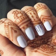 lavender nails, nail design, nail art, henna tattoo, henna design, bridal henna, mehandi, mehndi, design, body art  #makeupbysehar