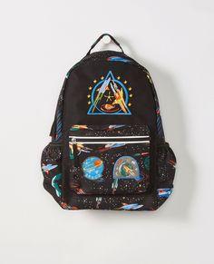 Nautica Girls Big Fashion Print Small Backpack for Kids