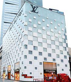 """The Elegant Chessboard"" Louis Vuitton MIXC Flagship Store, Shenzhen | DAOF Co."
