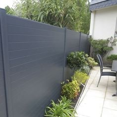 Precious Tips for Outdoor Gardens - Modern Privacy Fence Landscaping, Privacy Fence Designs, Backyard Fences, Backyard Landscaping, Diy Fence, Fence Ideas, Wood Fence Design, Modern Fence Design, Landscape Design Plans