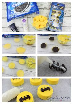 Make The Most Awesome LEGO Batman Oreos how to make LEGO® Batman oreos. Decorations and snacks for a birthday party - easy and simple.how to make LEGO® Batman oreos. Decorations and snacks for a birthday party - easy and Make The Most Awesome LEGO Batman Birthday Party Snacks, Superhero Birthday Party, Snacks Für Party, Birthday Cupcakes, Boy Birthday Parties, Lego Parties, Super Hero Party Snacks, Birthday Ideas, 4th Birthday Party For Boys