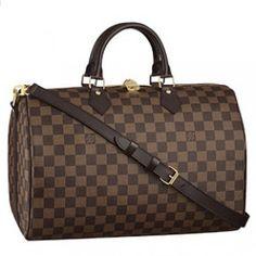 Louis Vuitton Damier Speedy 35 with Shoulder Strap