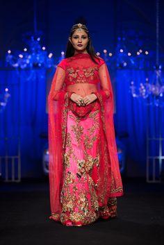 Lengha by Falguni & Shane Peacock at India Bridal Fashion Week 2014