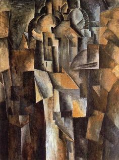 Le sacré-coeur. Braque  1910. Óleo sobre tela. 55.5 x 41 cm