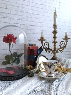 Beauty And The Beast |lumier|chip|enchanted rose|magic mirror|belle|cogsworth|gold glove|nursery decor|girl gift|book by SwankyEgg on Etsy https://www.etsy.com/listing/259465904/beauty-and-the-beast-lumierchipenchanted
