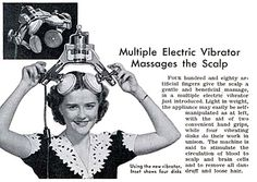 """Multiple Electric Vibrator , originally uploaded by Gatochy . Click image for 640 x 426 size. """"Multiple Electric Vibrator massages the Sc. Retro Advertising, Retro Ads, Vintage Advertisements, Vintage Ads, Vintage Medical, Vintage Magazines, Vintage Photos, Vintage Oddities, Vintage Labels"""