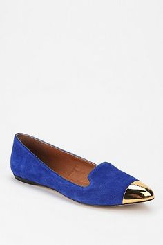 Metal Toe Loafers from Urban Outfitters.