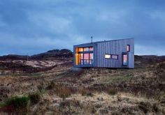 Kendram - Turf House - Rural Design Architects - Isle of Skye and the Highlands and Islands of Scotland Cabinet D Architecture, Green Architecture, Contemporary Architecture, Grand Designs Houses, Tiny House Swoon, Long House, Contemporary Cottage, Vacation Home Rentals, Wooden House