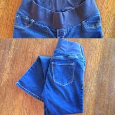 Maternity Jeans 2 Short Old Navy low-panel, slim boot cut jeans. Size 2 Short.  80% cotton, 18% polyester, 2% spandex. Old Navy Jeans Boot Cut