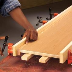 We'll show you how to add solid wood nosing to plywood shelves, bookcases and cabinets to cover up the ugly edge that plywood leaves. Applying the nosing will give your projects an attractive, finished edge. This article covers everything a DIYer needs to know to install the nosing.