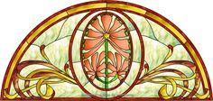 Victorian 003-2b Decorative Window Film