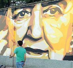Alda sui muri di Milano! !!