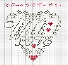 Lacomtesse: Aspettando S. Valentino With Love Valentine Heart free chart