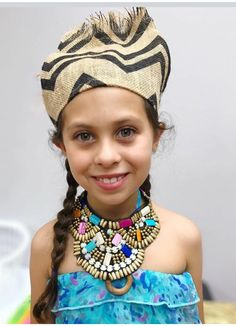 Angelina P wearing one of the African wear
