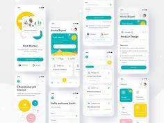 App Login, App Ui, Login Design, App Design, Best Mobile, Mobile App, Mobile Ui Design, Ui Inspiration, Cool Words