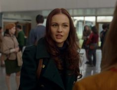 "Brianna Randall (Sophie Skelton) in Episode 213 ""Dragonfly In Amber"" Outlander Season Two Finale on Starz via  https://outlander-online.com/"