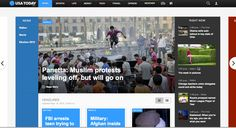 Innovation in web design by USA Today Muslim Protest, Weather News, News Media, Usa Today, Innovation, Web Design, Designers, Life, Website Designs