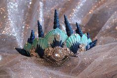 Mermaid Crown by RuffinoNYC on Etsy