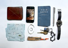 Hard Graft Bi-Fold Wallet iPhone 4 Field Notes Cold Horizon