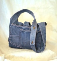 Old Jeans Purse