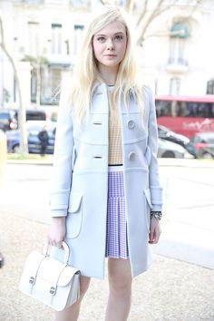 Street looks à la Fashion Week de Paris automne-hiver 2014-2015, Jour 9