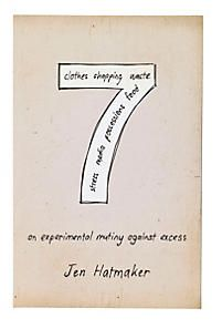 An Experimental Mutiny Against Excess - Jen Hatmaker. Just started reading this last night - chronicles one woman's journey of living simply and eliminating excess from her American life. Hilarious, moving - I didn't want to put it down! This Is A Book, The Book, Book Log, Jen Hatmaker Books, Reading Lists, Book Lists, Reading Nooks, Books To Read, My Books