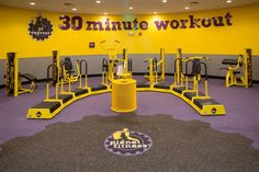 the planet fitness express 30 minute workout this set up